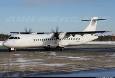 ATR ATR-72-500, Nordic Regional Airlines, OH-ATI, cn 783. Joensuu, Finland, 29.2.2016. Atr 72, Regional, Finland, Aircraft, Aviation, Planes, Airplane, Airplanes, Plane