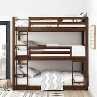 Best Three Level Built In Bunk Beds The Home Bunk Beds 400 x 300