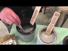 How to create a Chalk Paint® glaze using scumble - YouTube