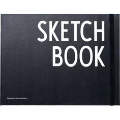 DESIGN LETTERS Hardback sketchbook (34 CAD) ❤ liked on Polyvore featuring home, home decor, stationery, books, fillers, notebooks and art