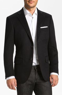 John W. Nordstrom® Signature Cashmere Blazer available at #Nordstrom