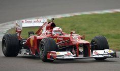 Vettel faz primeiro treino com carro da Ferrari em Fiorano, na Itália http://glo.bo/1tpOrON