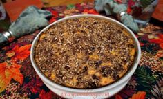 Sweet Potato Cassero