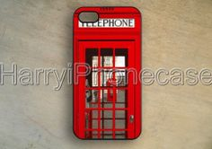 iPhone 5 caseLondon Red Telephone BoxSamsung by HarryiPhonecase, $9.99