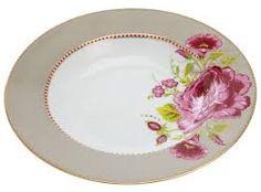 Resultado de imagem para jogos de pratos florais