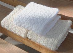 Crochet For Children: 3 Pretty Washcloths in Single Crochet - Free Patte...
