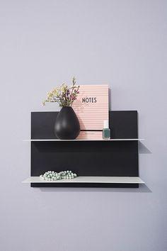 Paper Shelf for storage or decoration.