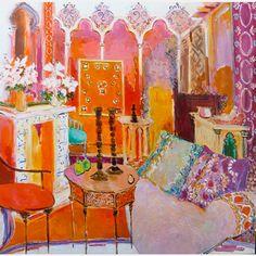 inspiring eclectic boho art | morocco # architecture # design