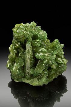 Minerals and Crystals — Vesuvianite - Jeffrey Mine, Asbestos, Asbestos...
