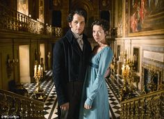 Matthew Rhys and Anna Maxwell Martin in Masterpiece Theatre's 'Death Comes to Pemberley'