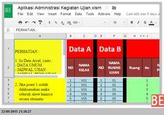 [File Pendidikan] Aplikasi Excel untuk Membuat Perlengkapan Ujian di Sekolah dengan fitur Lengkap