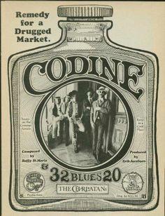 the Charlatans Codine Poster Old Bottles, Old Medicine Bottles, Antique Bottles, Vintage Ephemera, Vintage Labels, Vintage Signs, Vintage Ads, Vintage Images, Medical History