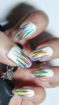 2 Colourful Nail Art Design Tutorials For Kids