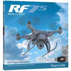 Great Planes RealFlight 7.5 w/Wireless SLT Interface