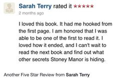 A book review from a fan about Amelia and the Secret of Stoney Manor by author Michelle Jetton.