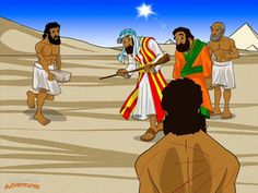 """But Yah hardened Pharaoh's heart and he became very stubborn. """"Who's this god of the Hebrews? I don't know him and I'm not letting anyone go. I need them to work for me!"""" Pharaoh spoke to his slave masters. """"Don't give the lazy Hebrews any straw,"""" he told them. """"They can get it themselves. But they must still make the same number of bricks as before."""" The Hebrew slaves became angry with Moses. They gathered around him, shaking their fists. """"Thanks to you, Pharaoh is working us even harder…"""