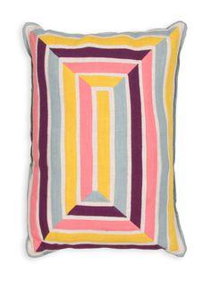 En Casa Handmade Pillow by Jaipur Pillows at Gilt