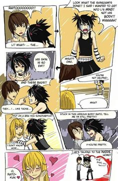 Death Note funny...I am dying right now