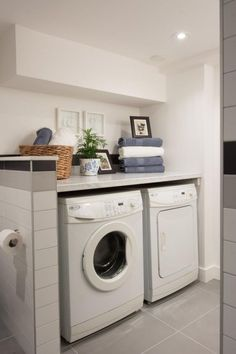 Chic Bathroom Laundry Room As Seen On Hgtvs Bathroom Laundry Room Combo  Pictures