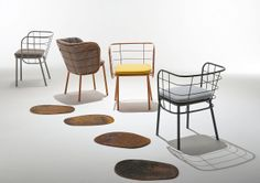 Chairs and More presents the new collection at the Salone indoor and outdoor jujube - CHAIRS & MORE SRL - News and press releases