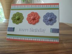 Blossom Bouquet Triple Layer Punch