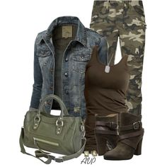 Balmain Camo Biker Jeans, created by amy-phelps on Polyvore