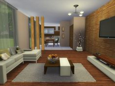 Sims 4 CC's - The Best: Luke living room by Spacesims