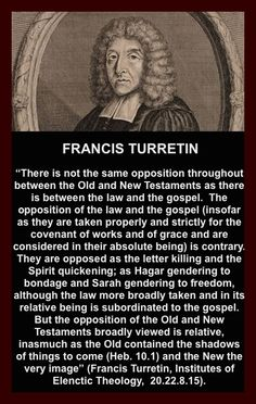 Francis Turretin (1623 1687) was a Swiss-Italian Reformed scholastic theologian. He is especially known as an earnest defender of the Calvinistic orthodoxy represented by the Synod of Dort, and as one of the authors of the Helvetic Consensus, which defended the formulation of predestination from the Synod of Dort and the verbal inspiration of the Bible. Turretin greatly influenced the Puritans, but until recently, he was a mostly forgotten Protestant scholastic from the annals of church…