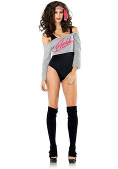 Flashdance Ladies Costume - Leg Avenue Costumes at Escapade UK - Escapade Fancy Dress on Twitter: @Escapade_UK
