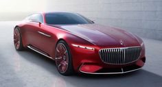 Mercedes-Maybach Vision 6 concept images leak out ahead of official debut. Story and gallery this way > http://www.formtrends.com/mercedes-maybach-vision-6-concept-breaks-cover/