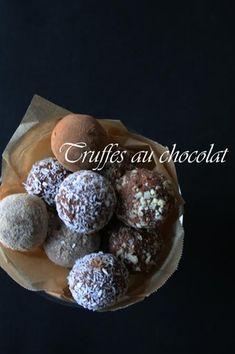 玄米甘酒ローチョコレートトリュフ AMAZAKE RAW CHOCOLATE TRUFFLES|レシピブログ