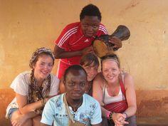 Quelques membre de l'association, et les volontaires de SIVA-TOGO