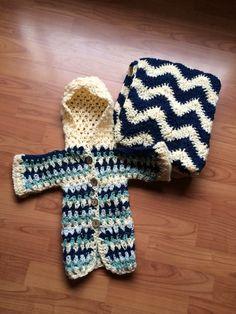 Chaleco crochet bebé