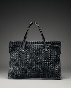 Bottega Veneta Tricot Raffia Bag: Meet Me on Melrose