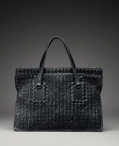 Bottega Veneta Tricot Raffia Bag: Meet Me on Melrose