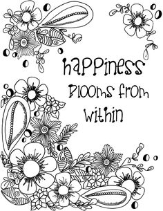 Timeless Creations Creative Quotes Coloring Page The