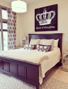 King And Queen Crowns From Kirklands And Ampersand From Hobby Impressive King And Queen Bedroom Decor Inspiration Design