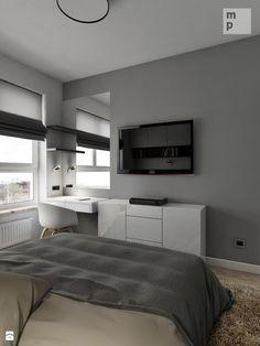 INTERIOR | Mieszkanie M3 - Warszawa - Sypialnia, styl nowoczesny - zdjęcie od Manufaktura Projektów