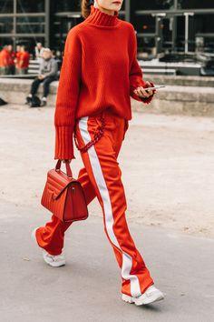 Fashion Week Paris Street Style Inspiration 50 Ideas For 2019 Sport Style, Sport Chic, Sporty Chic Style, Glam Style, Sporty Outfits, Mode Outfits, Chic Outfits, Spring Outfits, Fashion Outfits