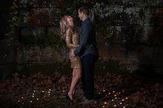 Cleveland & Akron Ohio Wedding Photographer | Fall Sunset Engagement Photography