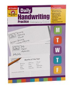 Look what I found on #zulily! Contemporary Cursive Handwriting Workbook #zulilyfinds