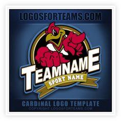 Get your customizable Cardinal Logo! www.logosforteams.com