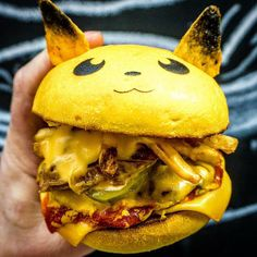 Burger Joint Down N' Out  in Sydney, Australia Created a Series of Adorable Pokémon Burgers