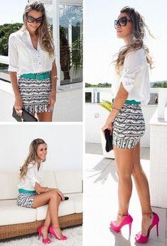 Looks con faldas cortas, moda 2013 | Moda, vestidos de boda, complementos para novia, vestidos online, vestidos baratos