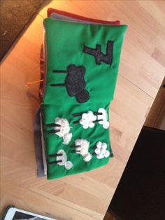 Fühlbuch Schafe #Fühlbuch #quietbook