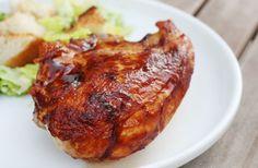 oven barbecue chicken @janemaynard