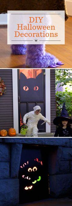 DIY Broomstick Decor Halloween Pinterest Fun halloween decorations - fun halloween decorating ideas
