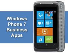 10 Hot Windows Phone 7 Business Apps | ITBusinessEdge.com