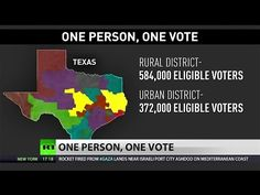 Supreme Court to hear arguments challenging 'One Person, One Vote' principle - YouTube