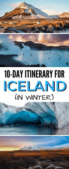 10 days in Iceland in winter |  Iceland travel itinerary | Iceland winter travel via @dangerousbiz